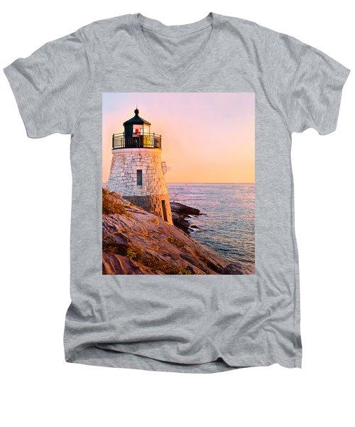 Castle Hill Light 3 Men's V-Neck T-Shirt