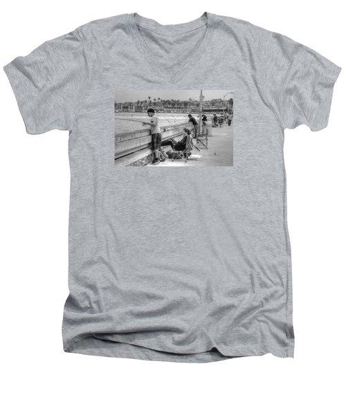 Catching More Than Fish Men's V-Neck T-Shirt