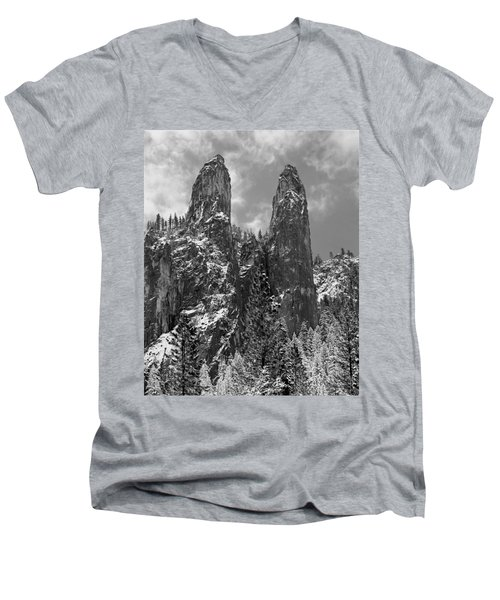 Cathedral Spires Men's V-Neck T-Shirt