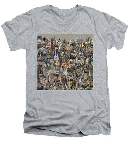Cathedri Men's V-Neck T-Shirt