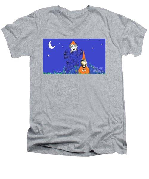 Cat's Meow Men's V-Neck T-Shirt