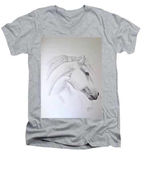 Cavallo Men's V-Neck T-Shirt