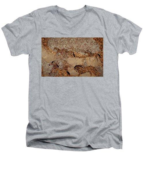 Cave 2 Men's V-Neck T-Shirt
