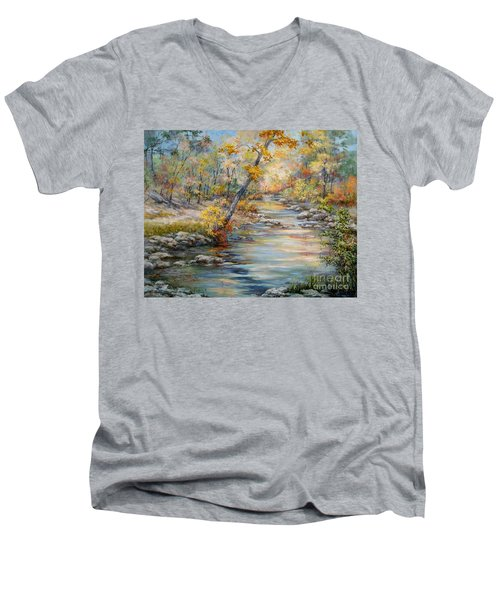 Cedar Creek Trail Men's V-Neck T-Shirt