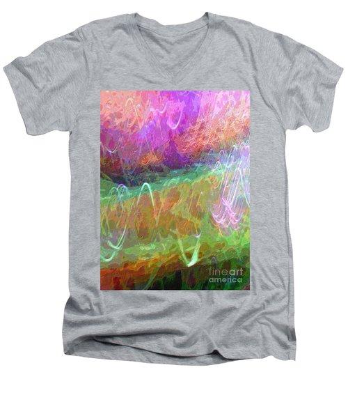 Celeritas 34 Men's V-Neck T-Shirt