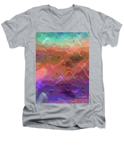Celeritas 54 Men's V-Neck T-Shirt