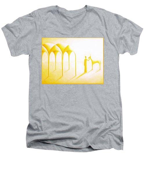Celestial Dimension Men's V-Neck T-Shirt