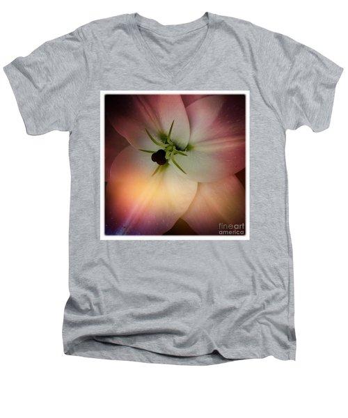 Center Men's V-Neck T-Shirt