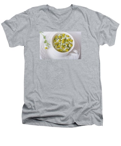 Chamomile Tea Men's V-Neck T-Shirt
