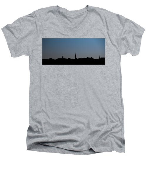 Charleston Silhouette Men's V-Neck T-Shirt