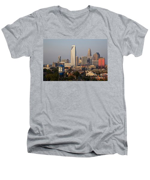 Charlotte In The Late Afternoon Men's V-Neck T-Shirt
