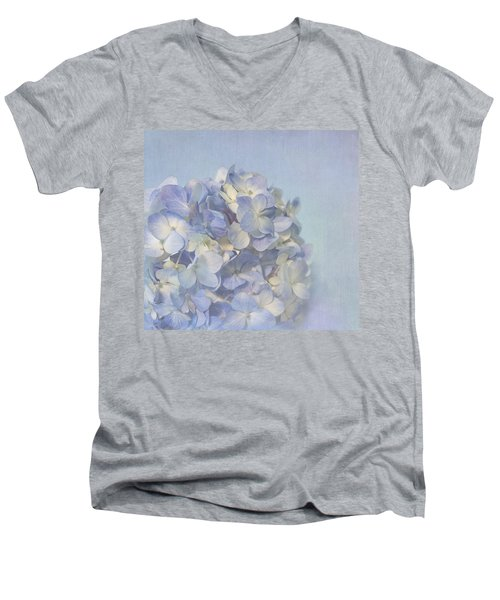 Charming Blue Men's V-Neck T-Shirt