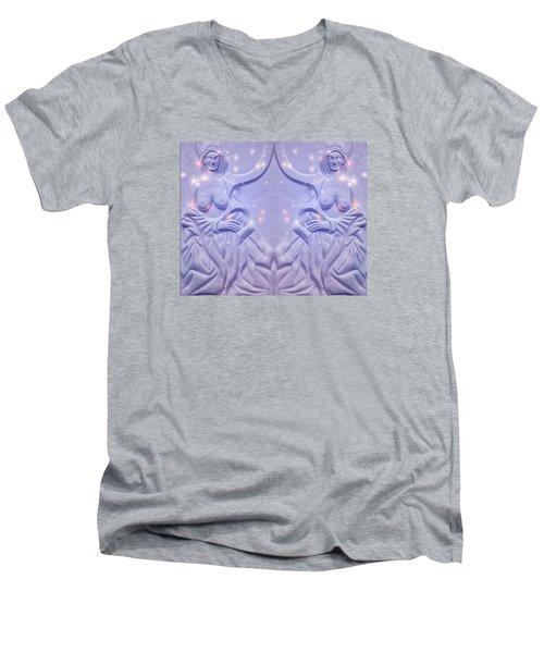 Two Charming Women Men's V-Neck T-Shirt