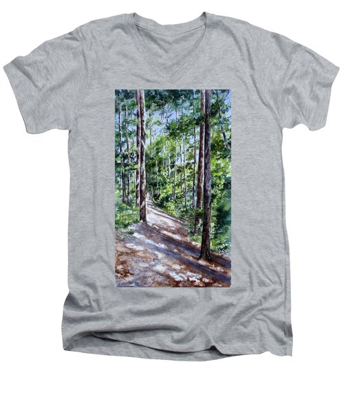Cheraw Trail Men's V-Neck T-Shirt