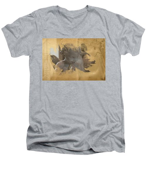 Cherub Men's V-Neck T-Shirt