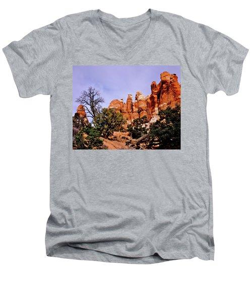 Chesler Park Pinnacles Men's V-Neck T-Shirt