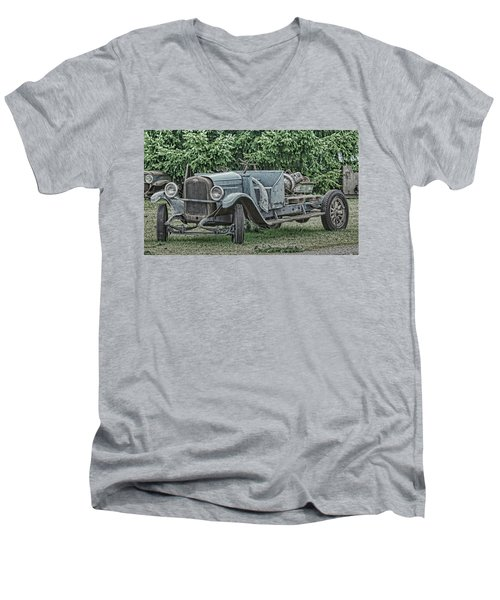 Chevy Truck By Ron Roberts Men's V-Neck T-Shirt