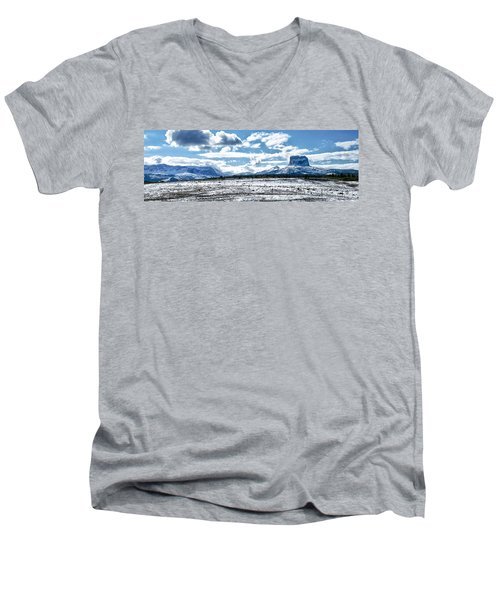 Chief Of The Mountains Men's V-Neck T-Shirt
