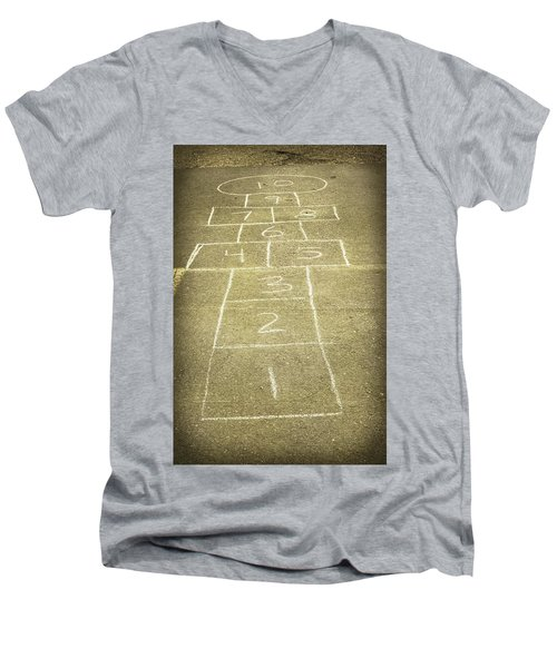 Childhood Games Men's V-Neck T-Shirt