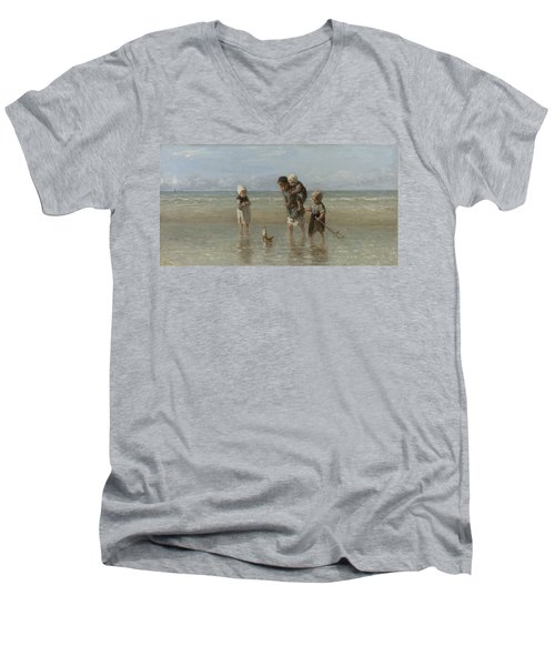 Children Of The Sea Men's V-Neck T-Shirt