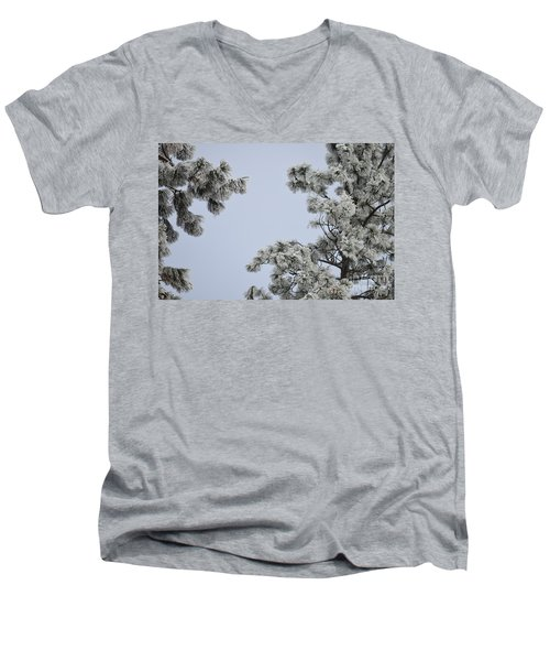 Chill Tree Men's V-Neck T-Shirt