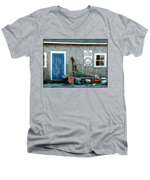Chilmark Dock Shack Men's V-Neck T-Shirt