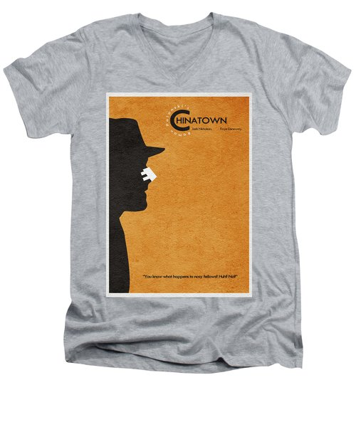 Chinatown Men's V-Neck T-Shirt
