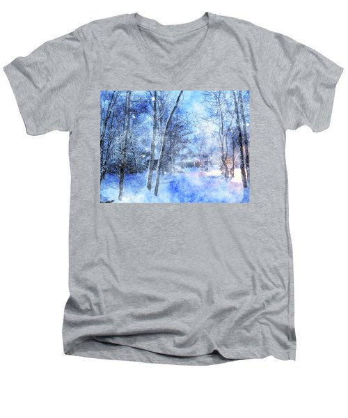 Christmas Wishes Men's V-Neck T-Shirt