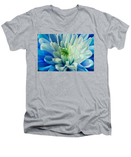 Chrysanthemum Men's V-Neck T-Shirt