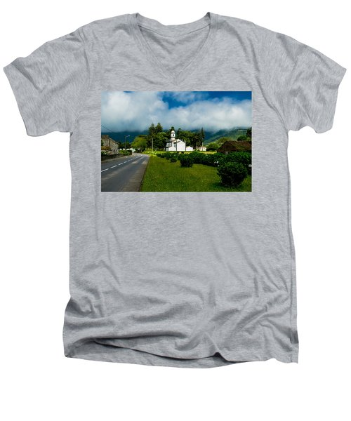 Church In Seven Cities Men's V-Neck T-Shirt
