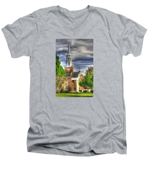 Church Of The Abiding Presence 1a - Lutheran Theological Seminary At Gettysburg Spring Men's V-Neck T-Shirt