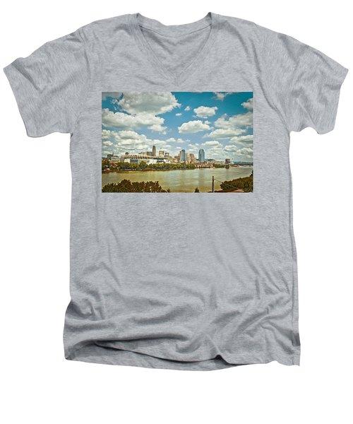 Cincinnati 4 Men's V-Neck T-Shirt