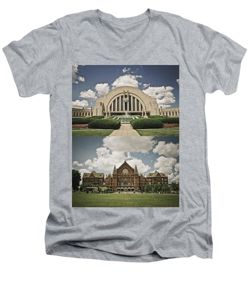 Cincinnati Icons Men's V-Neck T-Shirt