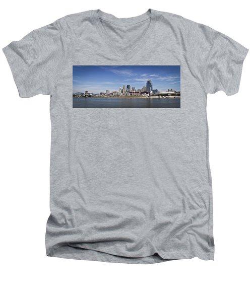 Cincinnati Men's V-Neck T-Shirt