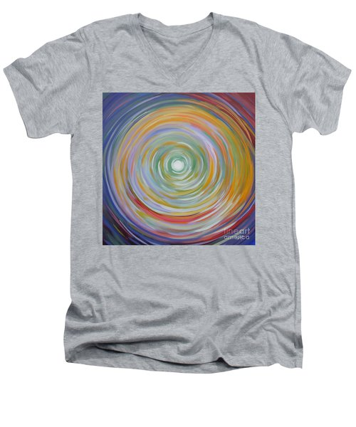 Circle In A Square Men's V-Neck T-Shirt