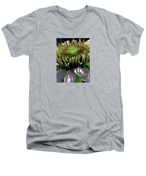 Men's V-Neck T-Shirt featuring the photograph Circle Of Friends by Jean OKeeffe Macro Abundance Art