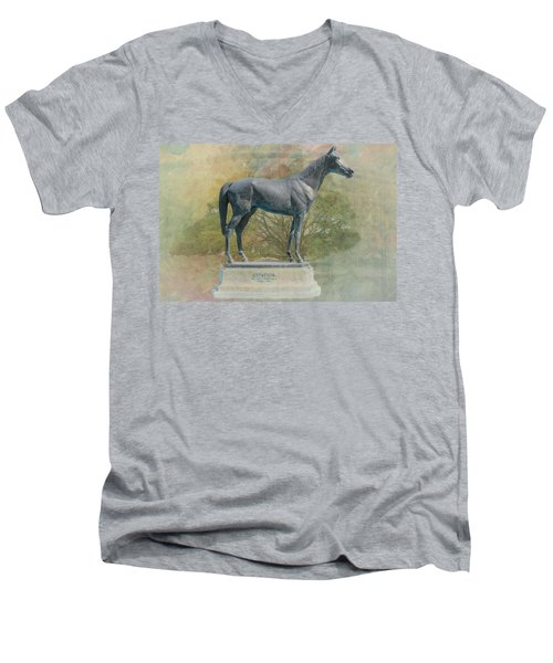 Citation Thoroughbred Men's V-Neck T-Shirt