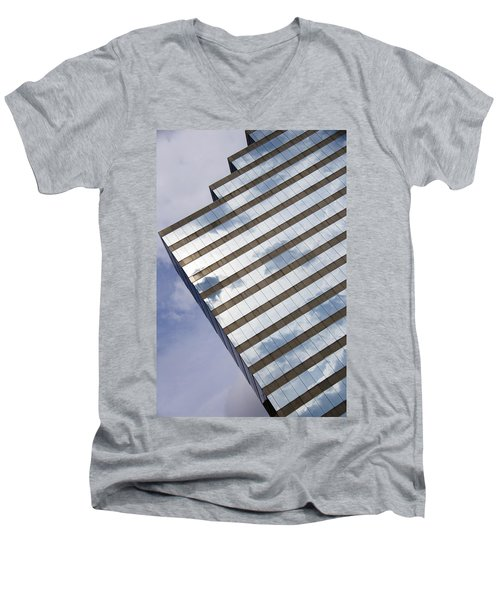 City Cloudscape Men's V-Neck T-Shirt