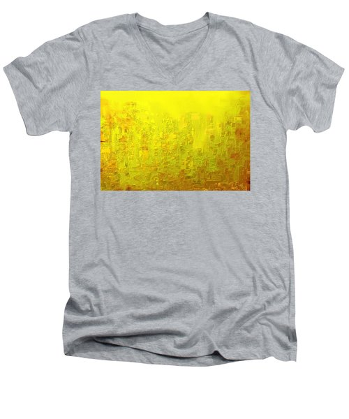 City Of Joy 2013 Men's V-Neck T-Shirt