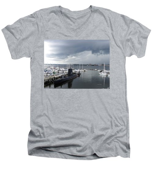 Uss Clamagore 343  #2 Men's V-Neck T-Shirt