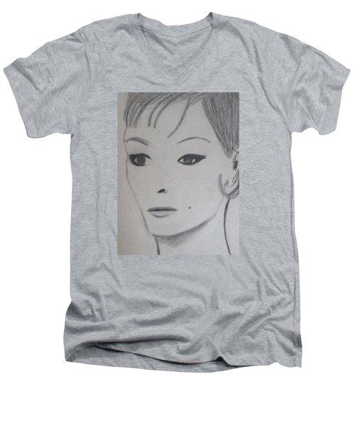 Claire Men's V-Neck T-Shirt