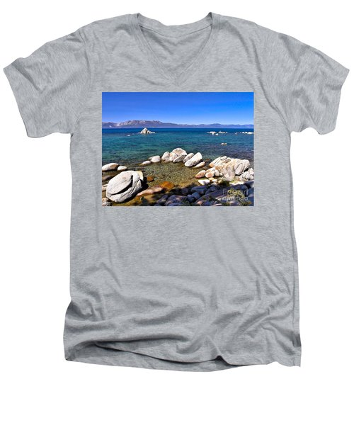 Clarity - Lake Tahoe Men's V-Neck T-Shirt