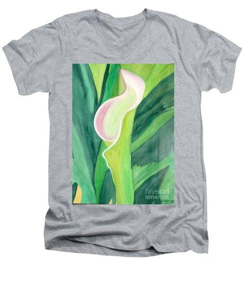 Classic Flower Men's V-Neck T-Shirt