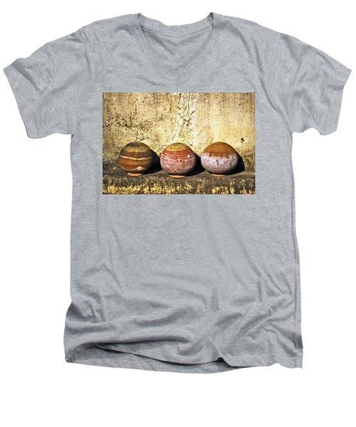 Clay Pots Men's V-Neck T-Shirt