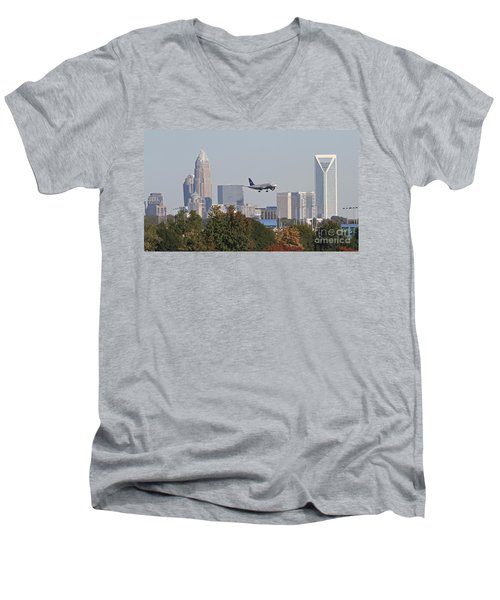 Cleared To Land Men's V-Neck T-Shirt
