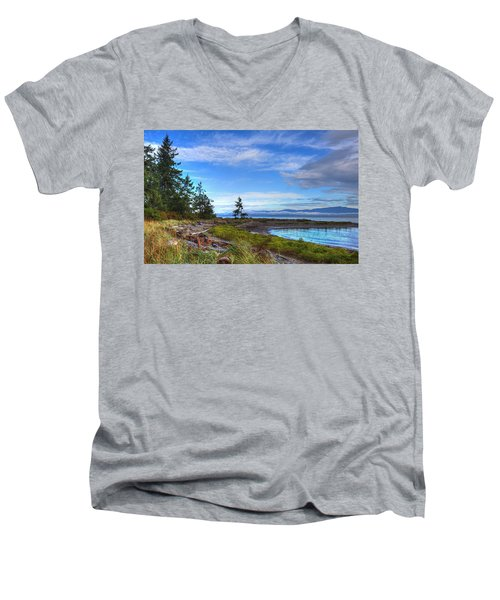 Clearing Skies Men's V-Neck T-Shirt