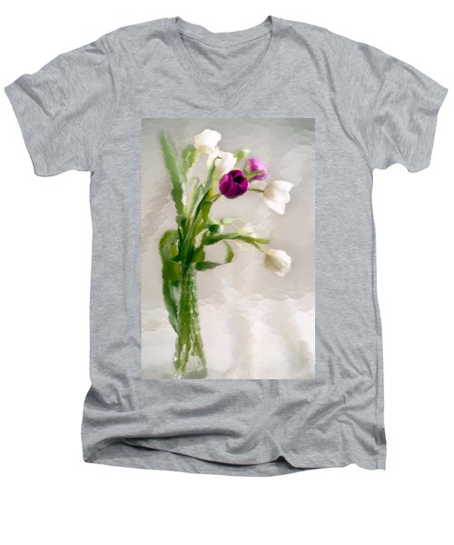 Clearly Different Men's V-Neck T-Shirt