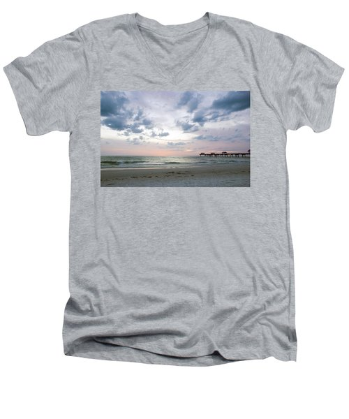 Clearwater Fishing Pier Men's V-Neck T-Shirt