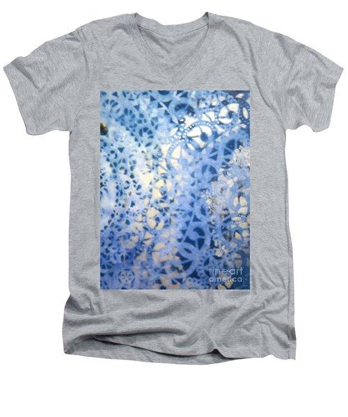 Clipart 009 Men's V-Neck T-Shirt by Luke Galutia