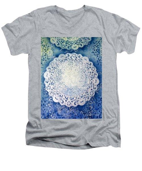 Clipart 010 Men's V-Neck T-Shirt by Luke Galutia